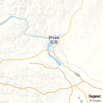 Карта Ичанга