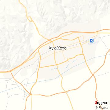 Карта Хоххота