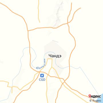 Карта Чандэ