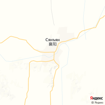 Карта Сяньфани