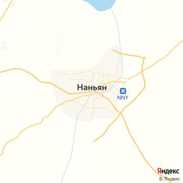 Карта Наньяна