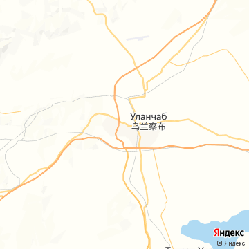 Карта Уланчаба