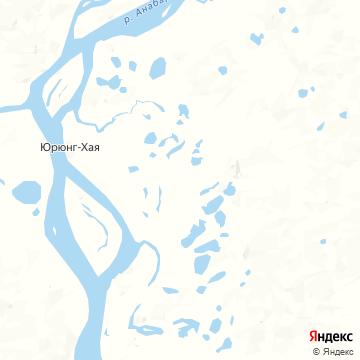 Карта Урюнга-Хаи