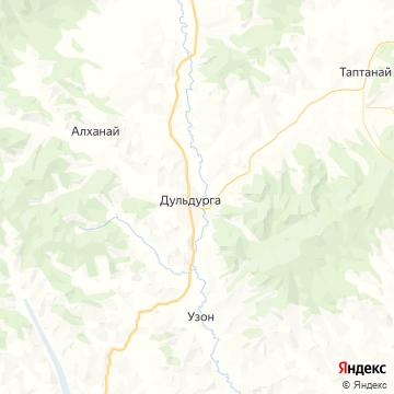 Карта Дульдурги
