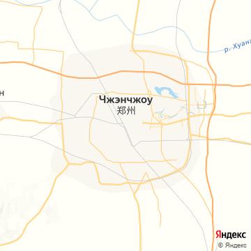 Карта Чженьчжоу
