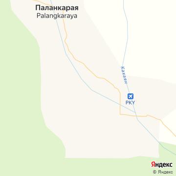 Карта Палангкарайи