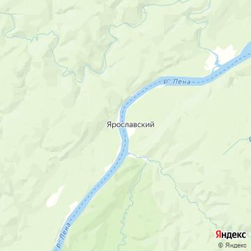 Карта Ярославский