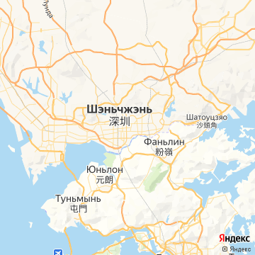 Карта Шэньчжэнь