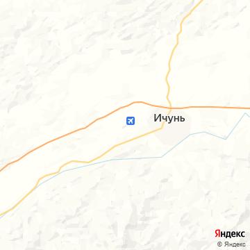 Карта Ичуня