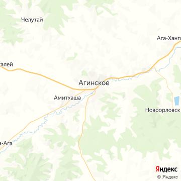 Карта Агинского