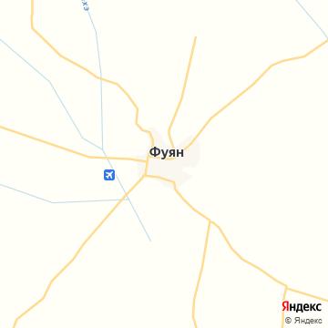 Карта Фуяна