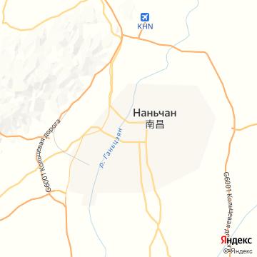 Карта Нанчанга