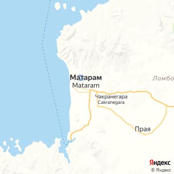 Карта Матарама