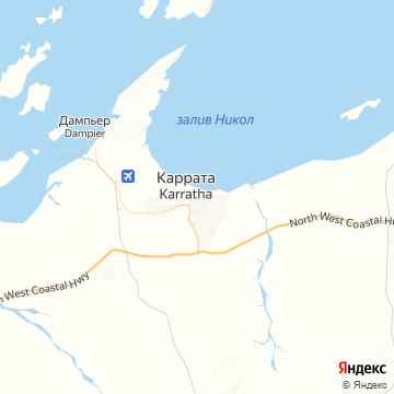 Карта Карраты
