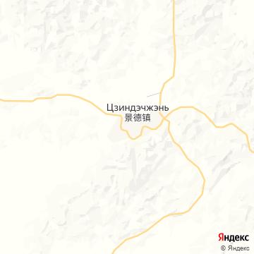Карта Цзиньдэчжэнь