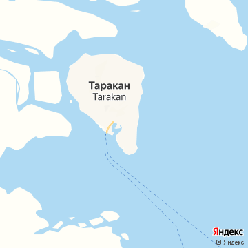 Карта Таракана