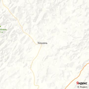 Карта Вуйшань