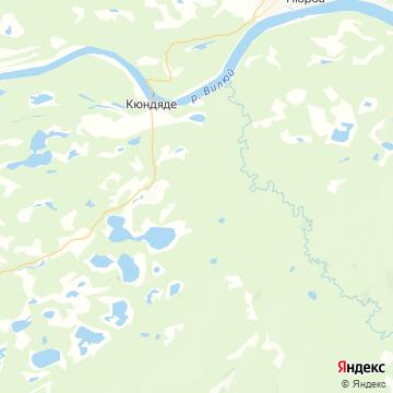 Карта Нюрбы