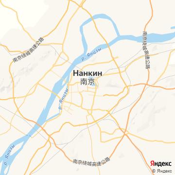 Карта Нанцзина