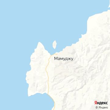 Карта Mamuju