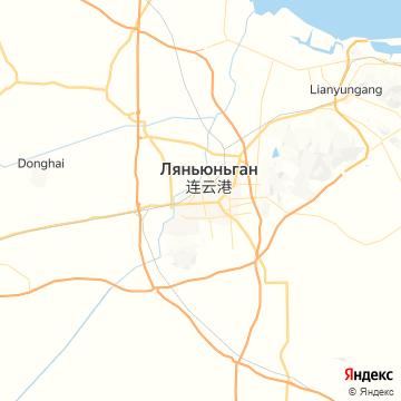 Карта Лианьюнана