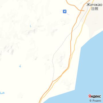 Карта Жичжао