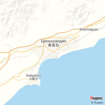 Карта Циньхуандао
