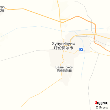 Карта Хайлара