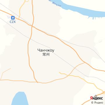 Карта Чангзу