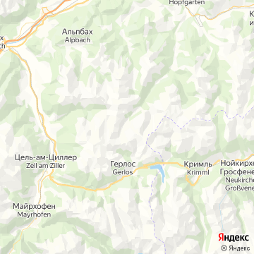 Карта Воергла