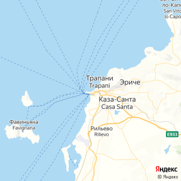Карта Трапаней