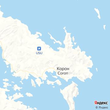 Карта Busuanga