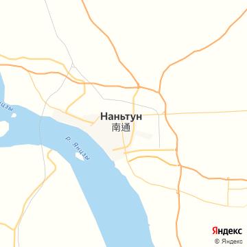 Карта Наньтуна