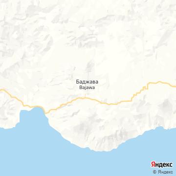 Карта Баджавы