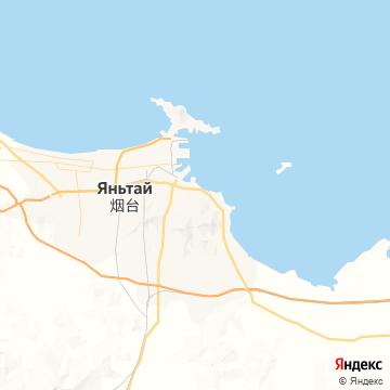 Карта Янтая