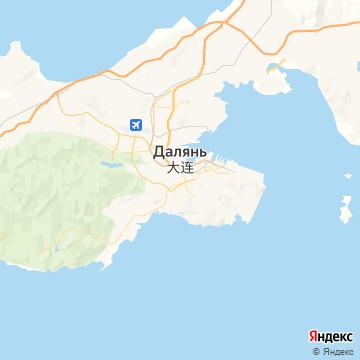 Карта Даляна