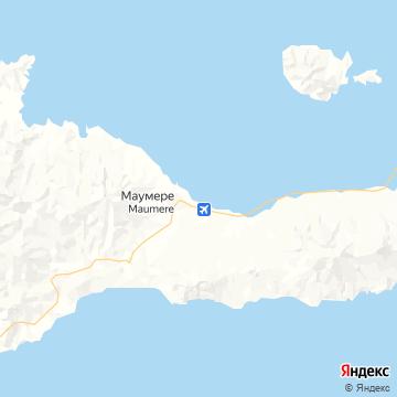 Карта Маумере