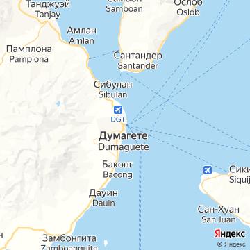 Карта Dumaguete
