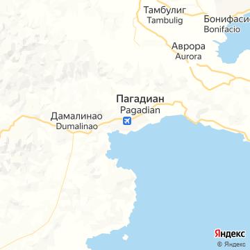 Карта Пагадиана