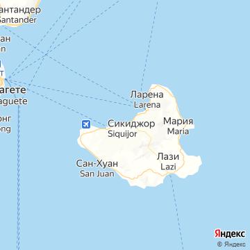 Карта Таклобана