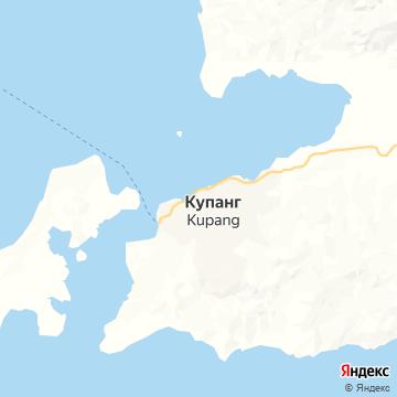 Карта Купанга