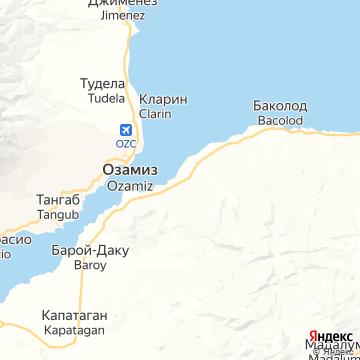 Карта Баколода