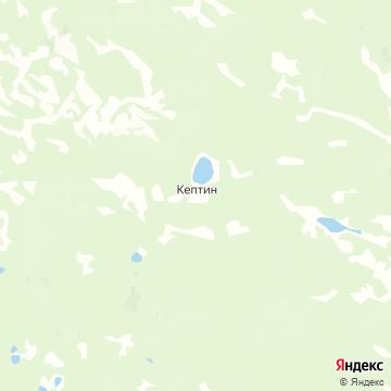 Карта Кептина