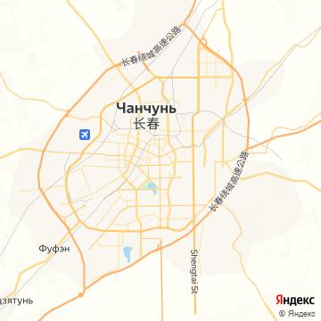 Карта Чанчуна
