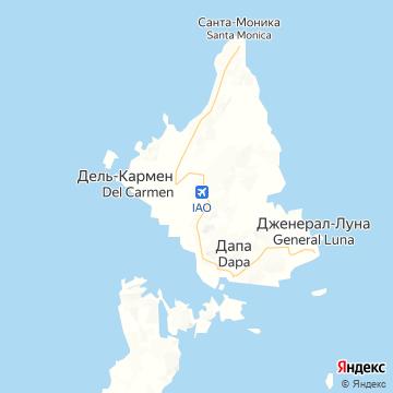 Карта Деля Кармина