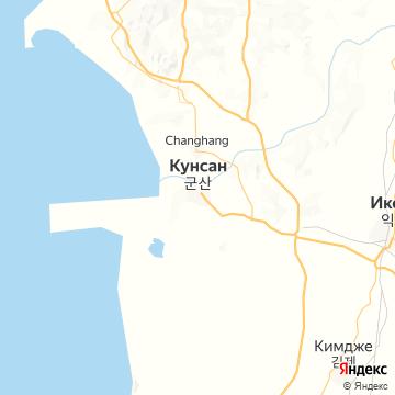 Карта Кунсана