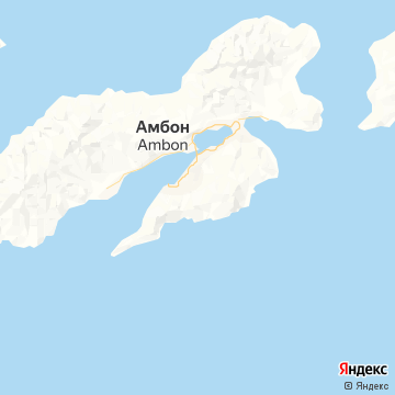 Карта Амбона