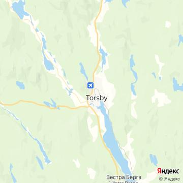 Карта Торсби