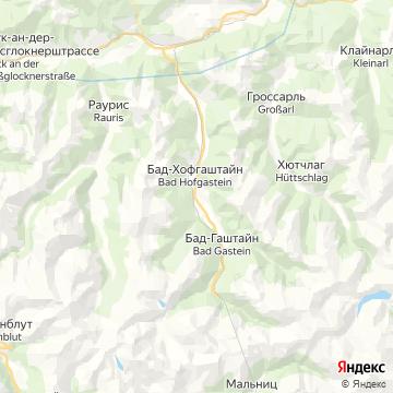 Карта Бада Ховгаштайна