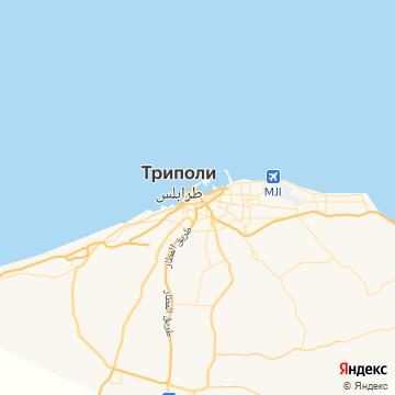 Карта Триполи